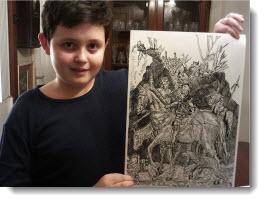 Serbian artist Dušan Krtolica
